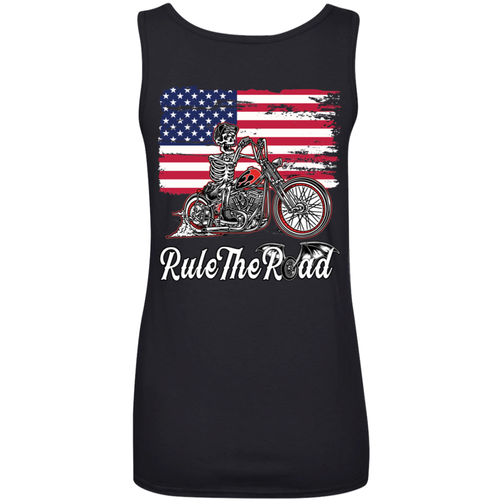 American Iron Ladies Scoopneck Tank Top