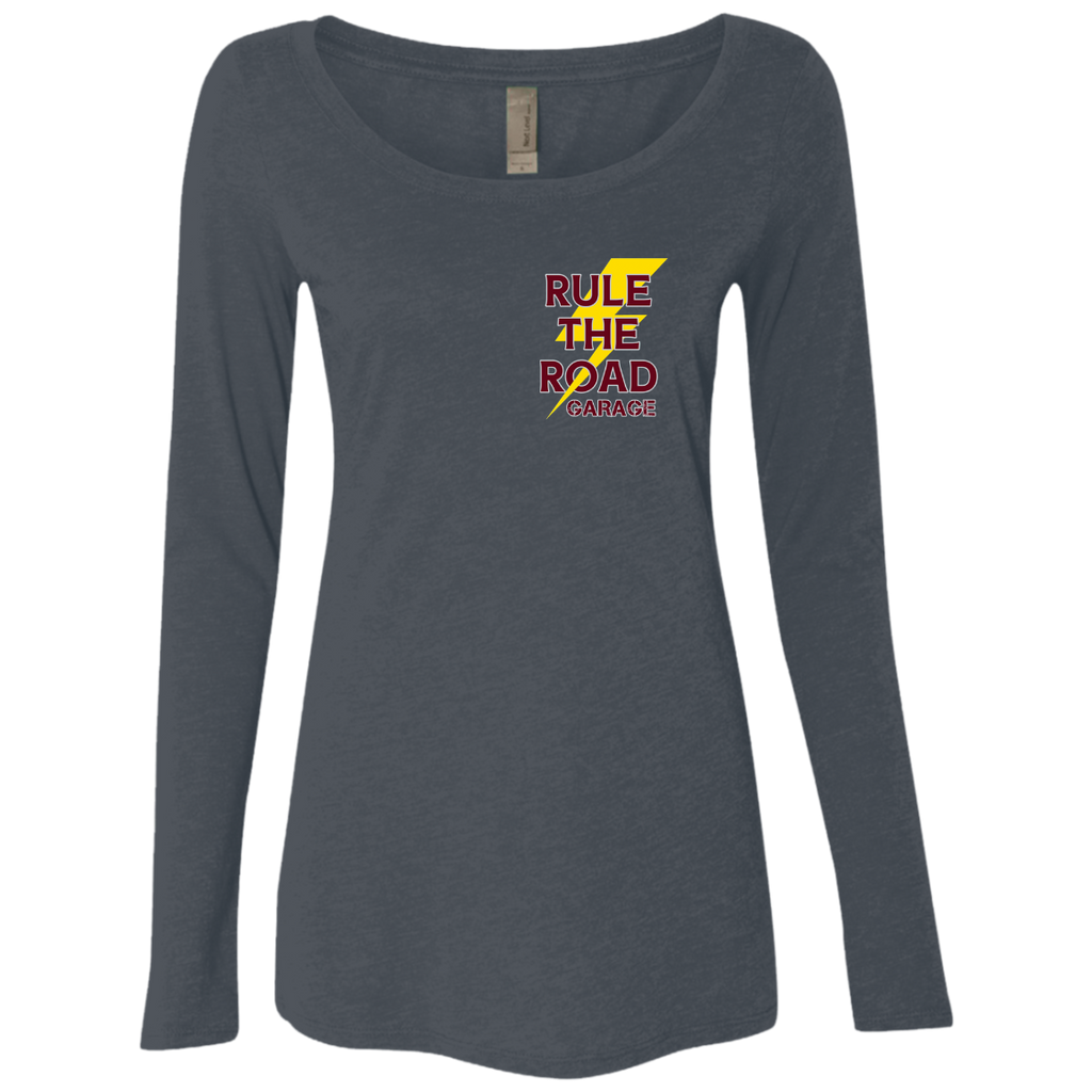 The Fixer Ladies Long Sleeve Scoop Neck T-Shirt