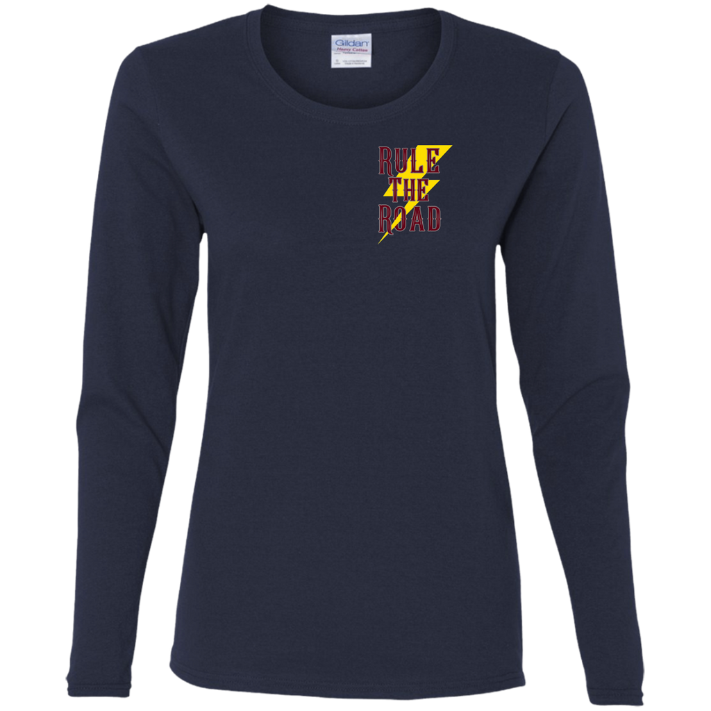 Speed Demon Ladies Long Sleeve T-Shirt