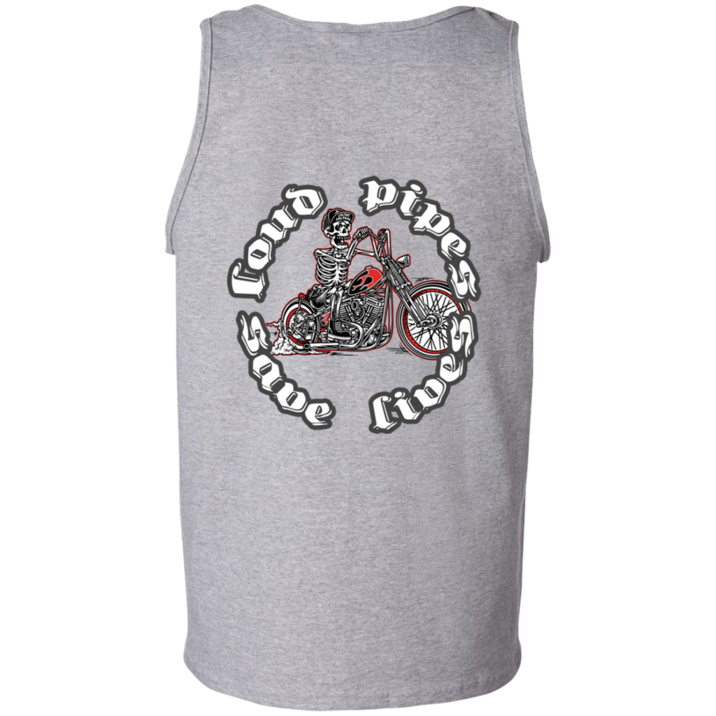 Loud Pipes Save Lives Bobber Mens Tank Top