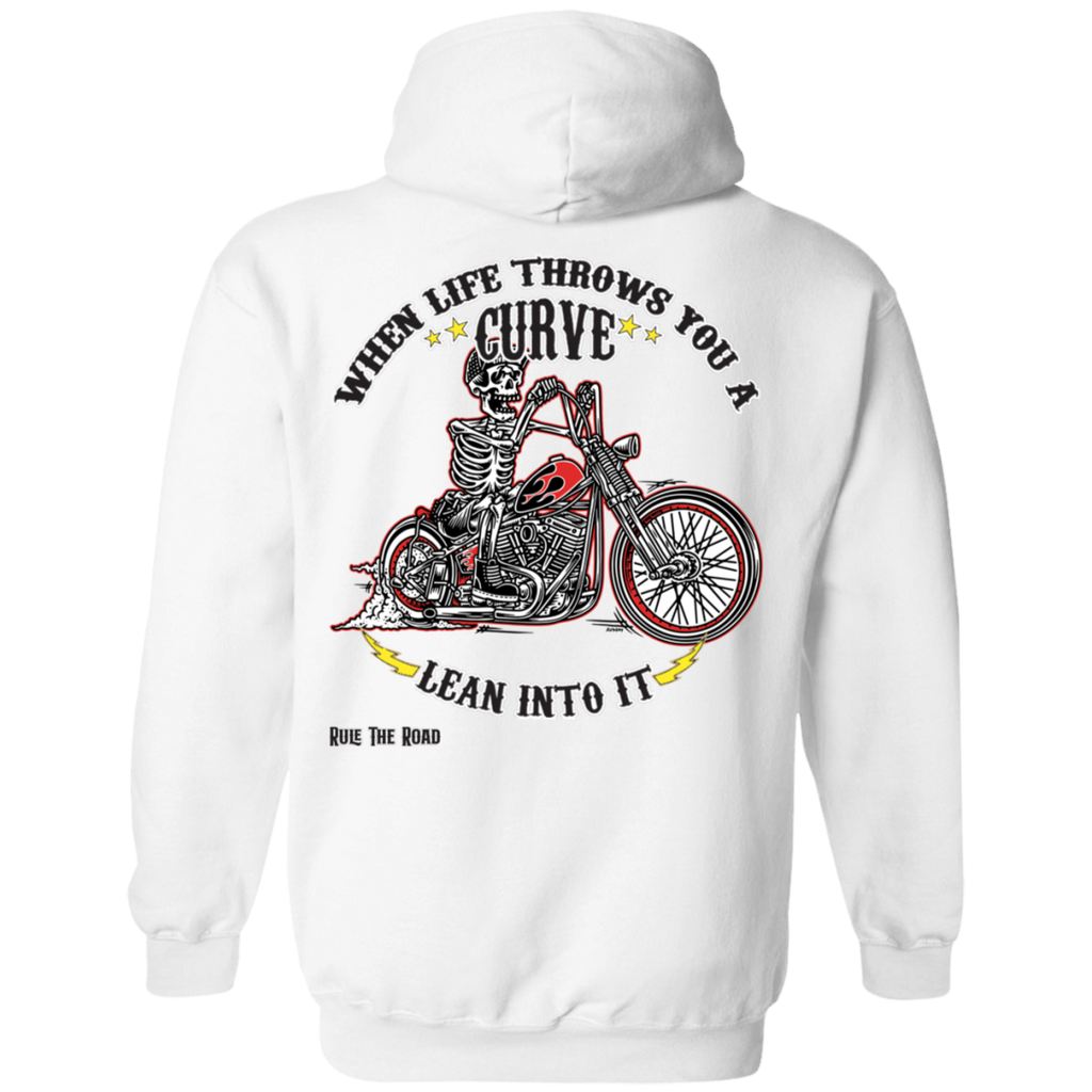 When Life Throws You A Curve Pullover Hoodie
