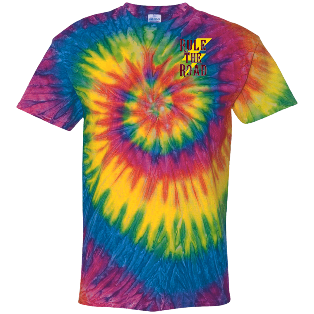 Support Your Local Car Builder Tie Dye Short Sleeve T-Shirt