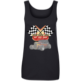 Hot Rod Shop Personalized Women's Scoopneck Tank Top