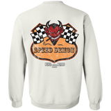 Speed Demon Pullover Crewneck Sweatshirt