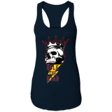 Skull Logo Ladies Ideal Racerback Tank Top