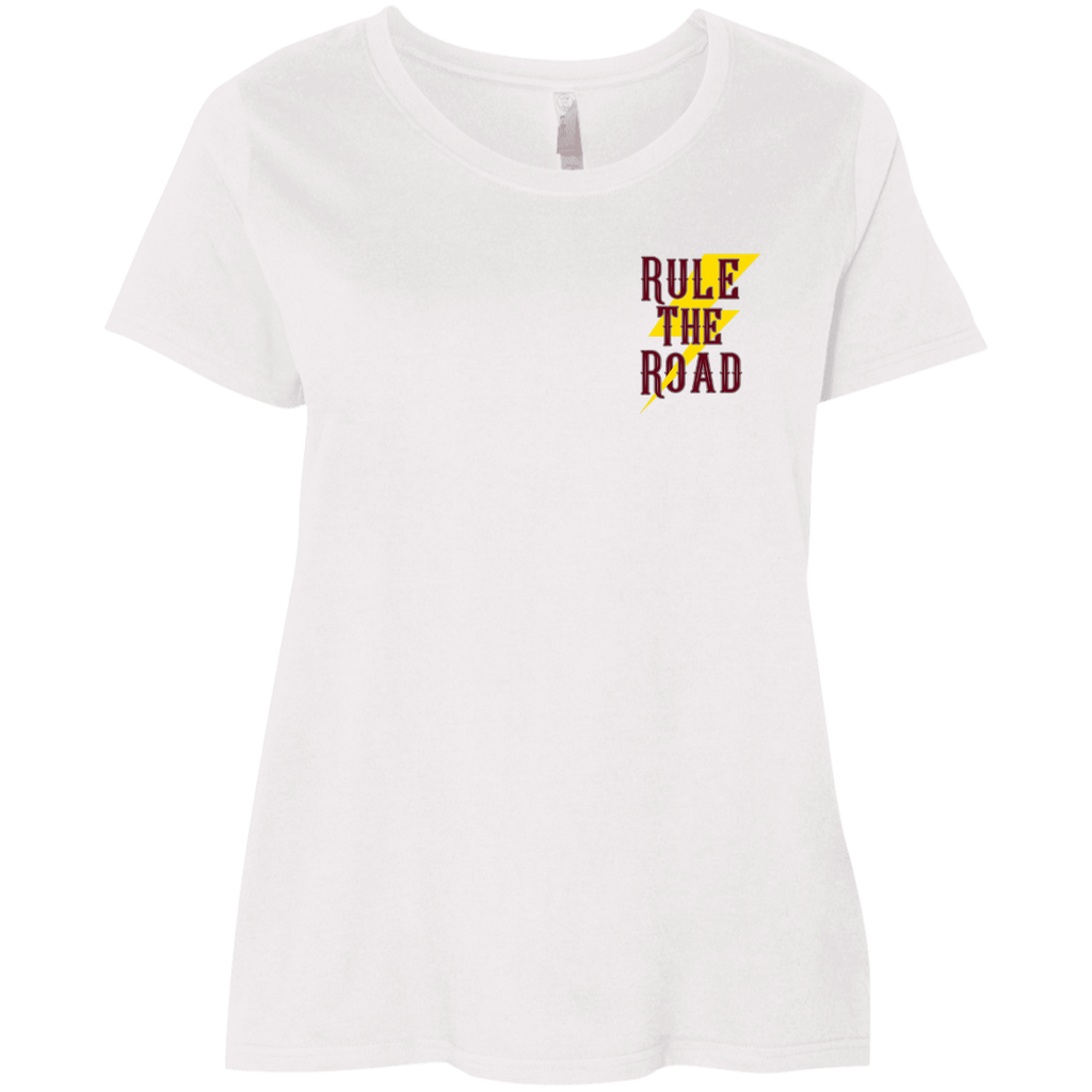 Built Not Bought Ladies Curvy Plus Size Short Sleeve T-Shirt