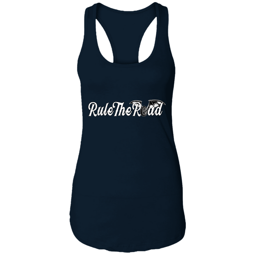 RTR Winged Wheel Logo Ladies Ideal Racerback Tank Top