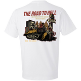 The Road To Hell Motorcycle Short Sleeve T-Shirt
