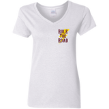 Speed Demon Ladies V-Neck T-Shirt