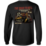 The Road To Hell Motorcycle Mens Long Sleeve T-Shirt