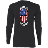 American Skull Ladies Long Sleeve T-Shirt