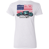 American Hot Rod Ladies V-Neck T-Shirt