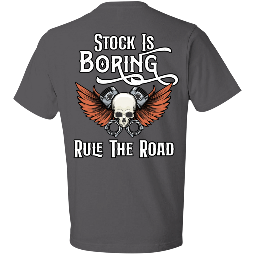 Stock Is Boring Short Sleeve T-Shirt