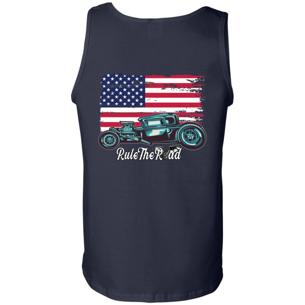 American Hot Rod Mens Tank Top