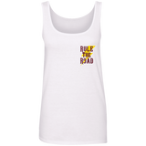 Support Your Local Car Builder Ladies Scoopneck Tank Top