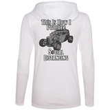 Social Distancing Classic Car Ladies Long Sleeve T-Shirt Hoodie