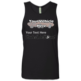 Rule(s) The Road Personalized Men's Tank Top