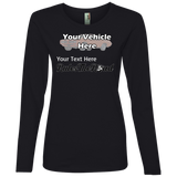 Rule(s) The Road Personalized Women's Long Sleeve T-Shirt