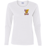 Freedom Is A Full Tank Hot Rod Ladies Long Sleeve T-Shirt
