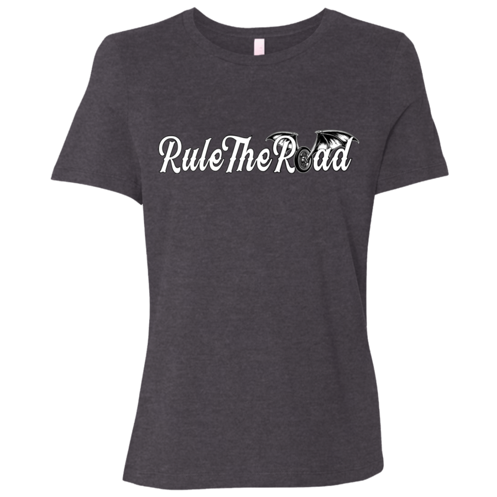 RTR Winged Wheel Logo Ladies Relaxed Fit Short Sleeve T-Shirt