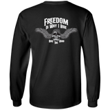 Freedom Is Why I Ride Mens Long Sleeve T-Shirt
