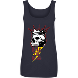 Skull Logo Ladies Scoopneck Tank Top