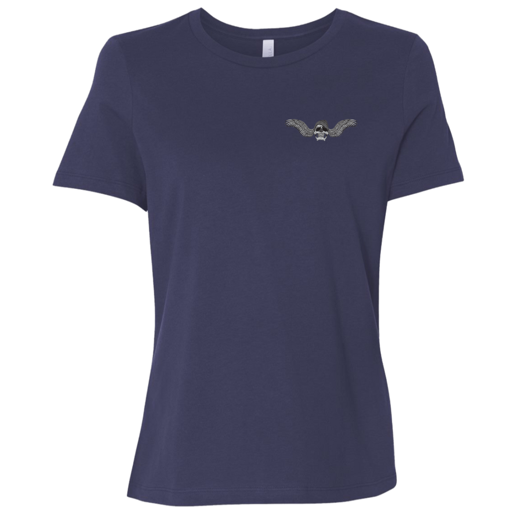 Freedom Is Why I Ride Ladies Relaxed Fit Short Sleeve T-Shirt