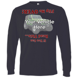 Flip Me Over Personalized Men's Long Sleeve T-Shirt