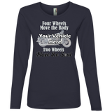 Two Wheels Move The Soul Personalized Women's Long Sleeve T-Shirt