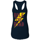 RTR Classic Style Logo Ladies Ideal Racerback Tank Top