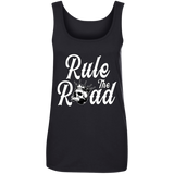 Rule The Road OG Logo Ladies Scoopneck Tank Top