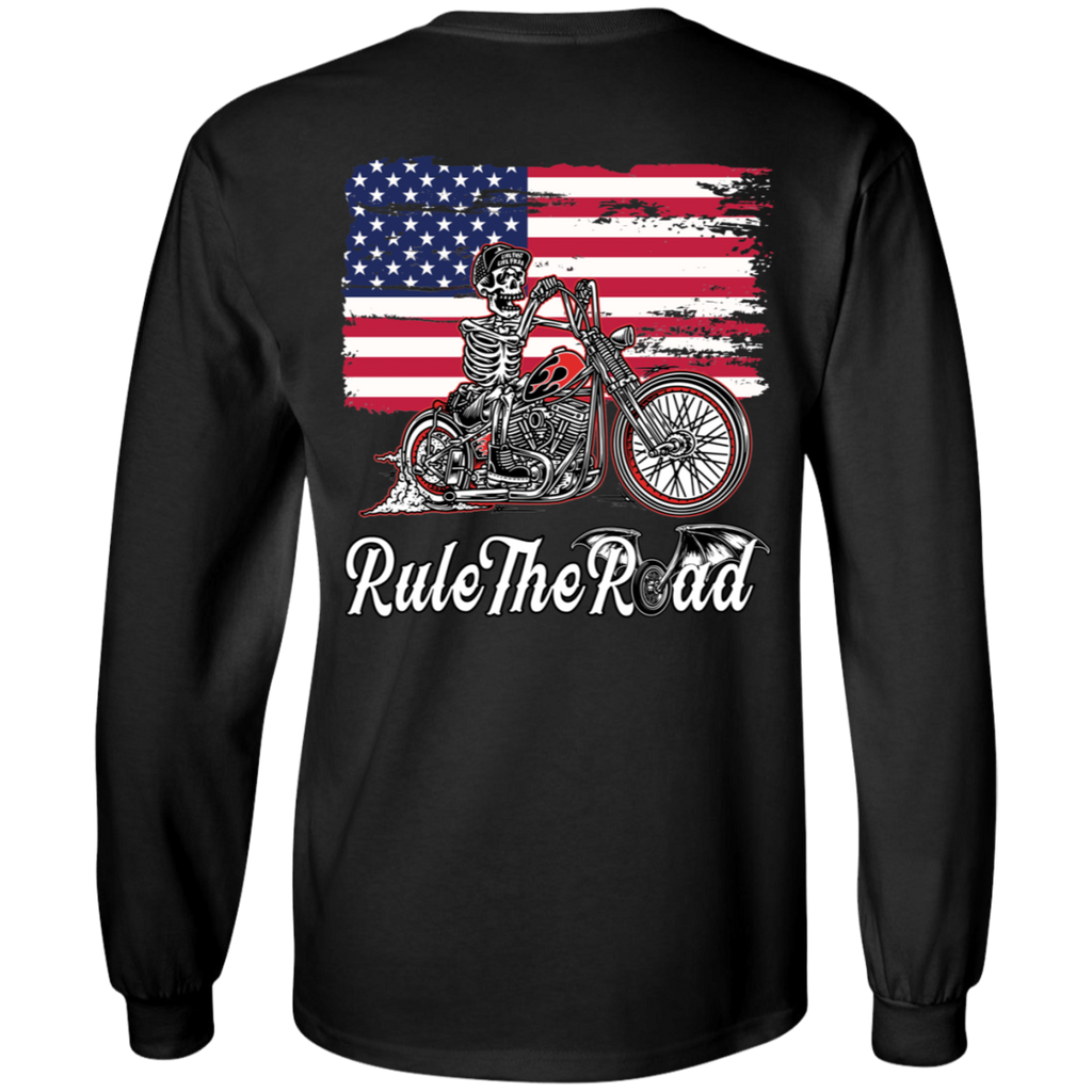 American Iron Mens Long Sleeve T-Shirt