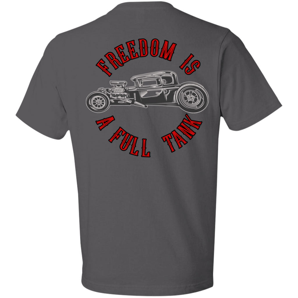 Freedom Is A Full Tank Hot Rod Short Sleeve T-Shirt