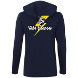 Take Chances Ladies Long Sleeve T-Shirt Hoodie