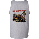 The Road To Hell Motorcycle Mens Tank Top