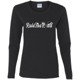 RTR Winged Wheel Logo Ladies Long Sleeve T-Shirt