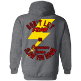 Don't Let Fear Slow You Down Pullover Hoodie