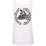 Loud Pipes Save Lives Bobber Ladies Scoopneck Tank Top