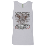 Skulls Personalized Men's Tank Top