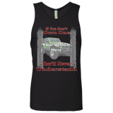 If You Don't Own One, You'll Never Understand - Tire Tracks Personalized Men's Tank Top