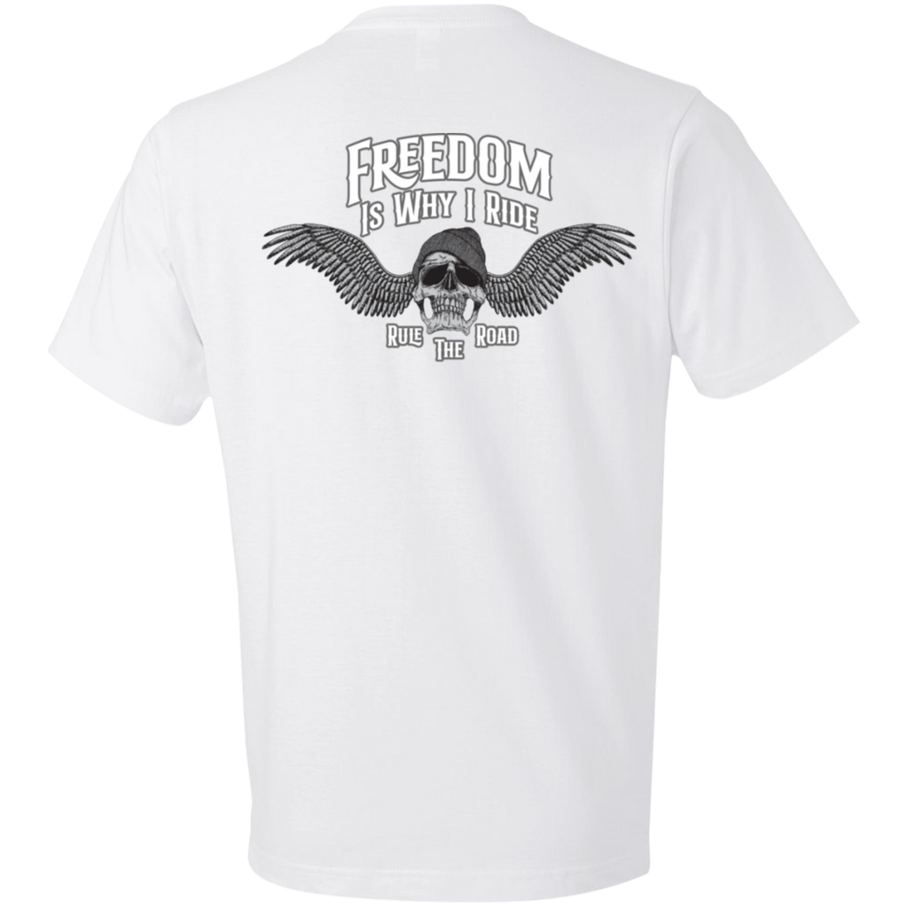 Freedom Is Why I Ride Short Sleeve T-Shirt