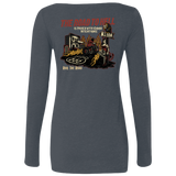 The Road To Hell Motorcycle Ladies Long Sleeve Scoop Neck T-Shirt