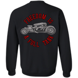 Freedom Is A Full Tank Hot Rod Pullover Crewneck Sweatshirt