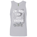 I'm Not Old, Just Vintage Personalized Men's Tank Top