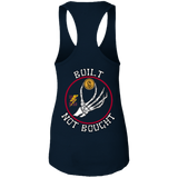 Built Not Bought Ladies Ideal Racerback Tank Top