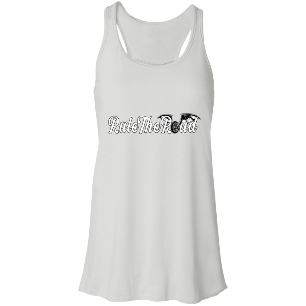 RTR Winged Wheel Logo Ladies Flowy Racerback Tank