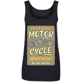 Motorcycle Shop Personalized Women's Scoopneck Tank Top