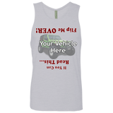 Flip Me Over Personalized Men's Tank Top