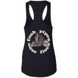 Loud Pipes Save Lives Bobber Ladies Ideal Racerback Tank Top