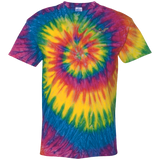 Freedom Is Why I Ride Tie Dye Short Sleeve T-Shirt